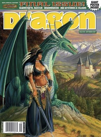Final Issue of Dragon Magazine