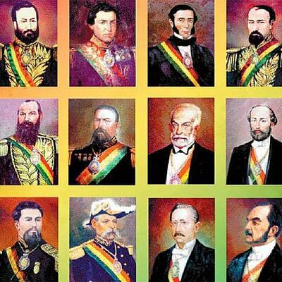 Gobiernos Caudillistas (1841 - 1879). timeline