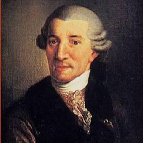Joseph Haydn was born