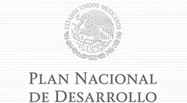 Objetivos del Plan Nacional de Desarrollo  timeline