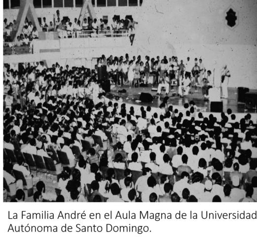 Familia André en concierto universitario
