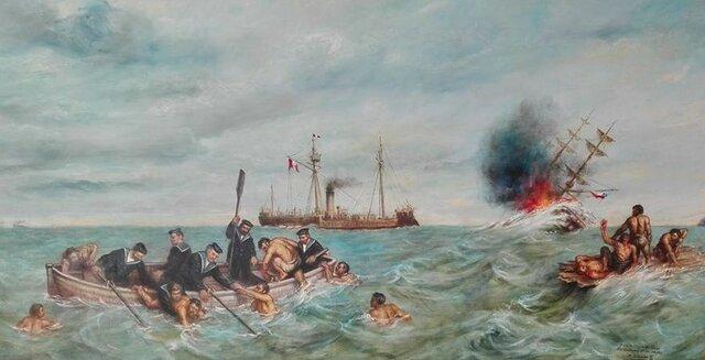 El Combate Naval de Iquique