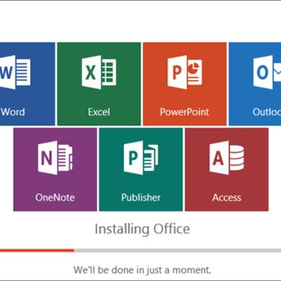 MS-Office timeline
