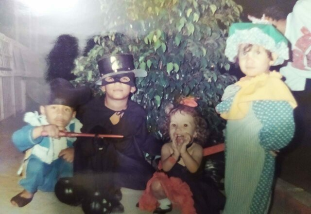 costume day with cousins
