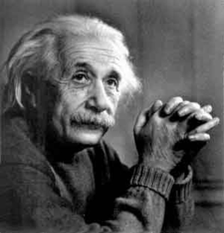Albert Einstein introduces the forever famous equation E=mc 2
