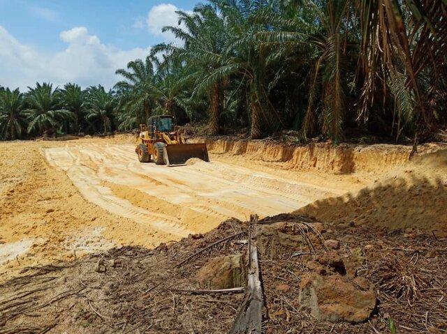 Projek 2: Kerja-Kerja Ekstrak Pasir Darat Untuk Pasaran Tempatan