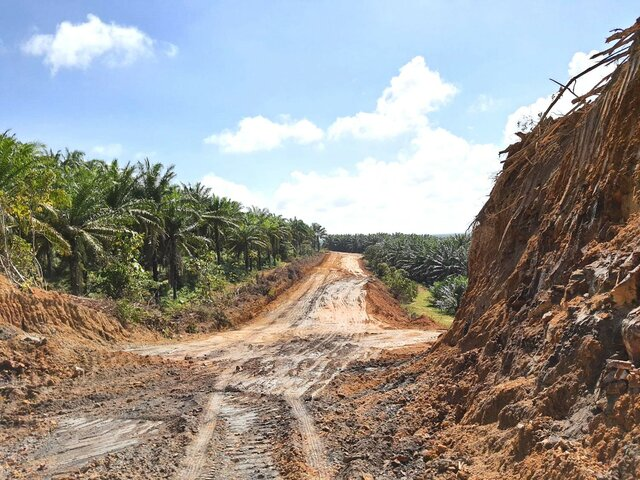 Pembinaan Jalan Utama Lombong Lepar