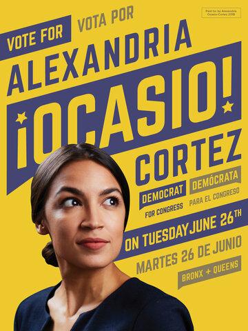 AOC Announces Congress Running