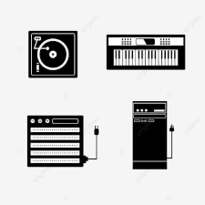 Evolución de los equipos de música timeline