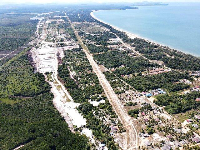 Gambar Udara Sg.Baging Silika Jun 2020
