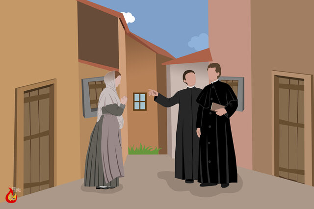 4.- Don Bosco llega a Mornese