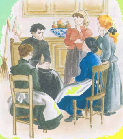 6.- don Bosco redacta las nuevas constituciones para las Hijas de Mª Auxiliadora. Llevaba escrita una fecha: 24 de Mayo de 1871