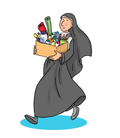 10.-Traslado de las primaras Salesianas al colegio