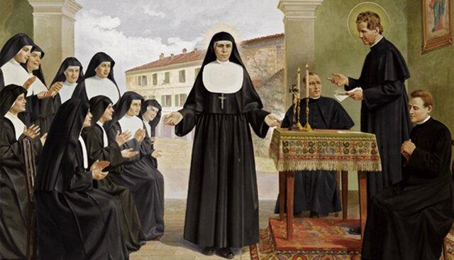 11.- 5 de agosto de 1872. Profesión religiosa y comienzo del instituto