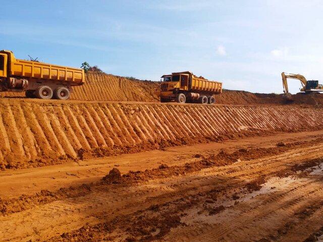 Lepar: Kerja-Kerja Pembangunan Lombong
