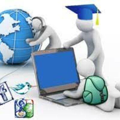 Linea del tiempo evolución de la tecnología educativa  timeline