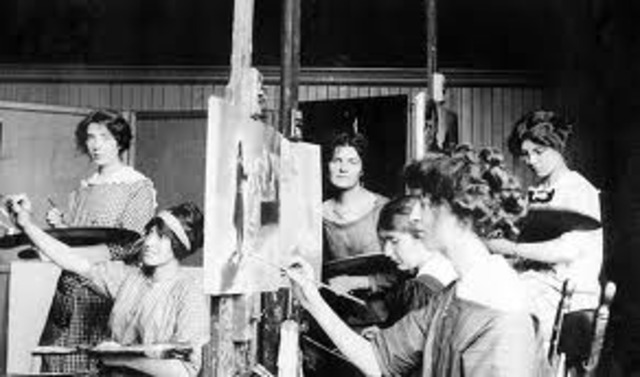 The Massachusetts Normal art school opened. The school's original goal is to prepare teachers in drawing instruction. The Massachusetts Normal School is now the Massachusetts College of Art.