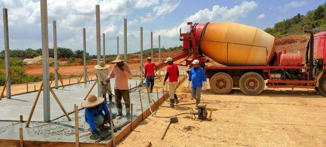 Lepar: Pembinaan Fasiliti Lombong