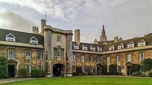 Enrolls in Christ's College University of Cambridge