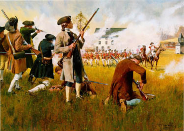 • Battle of Lexington and Concord •
