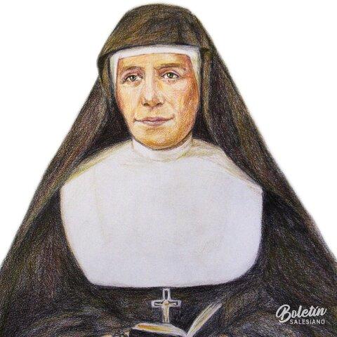 23.- Madre Mazzarello reelegida Superiora General