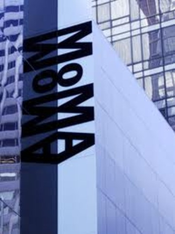 The Museum of Modern Art is opened to the public