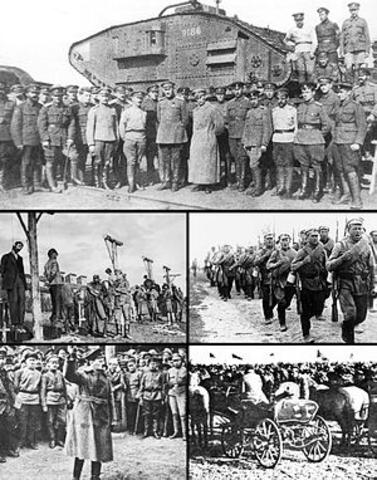 Civil War (1917 to 1923)