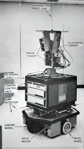 El primer robot inteligente