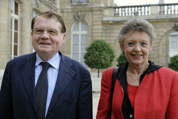 Luc Montagnier y Françoise Barre sinoussi