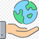 Png transparent computer icons ecology natural environment hand area sustainability thumbnail