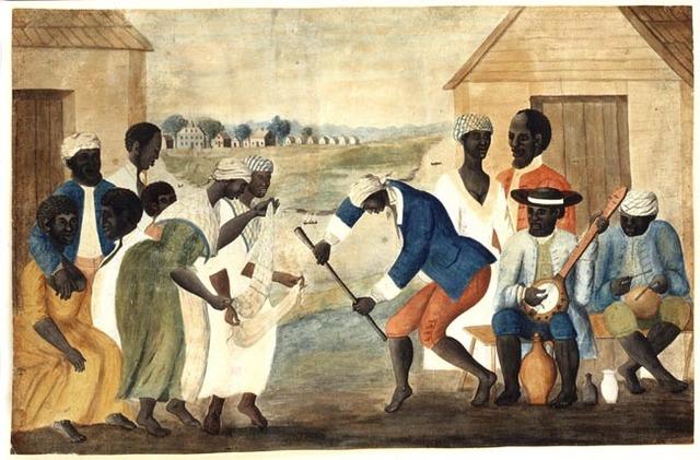 African American Slaves and Laborers arrive in Jamestown