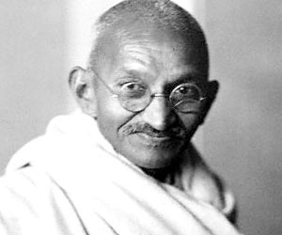 Mohandas Gandhi's Leadership of the INC