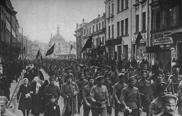 Bolshevik Revolution: Seize of Petrograd