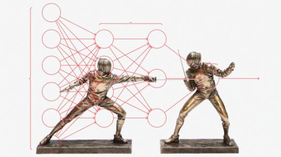 Redes generativas antagónicas