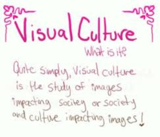 """Art educators begin to use the term """"Visual Culture"""" to describe thier central point of study."""