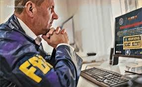 FBI en acción.