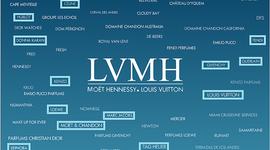 LVMH Adquisición de marcas. timeline