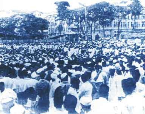 Beginning of WWII and the quit india movement