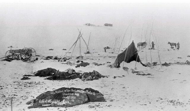 Wooded Knee Creek masacre - Module 3 (1/2)