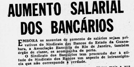 A Associação Bancária se mantém perto dos assuntos que tangem os interesses dos funcionários dos Bancos mesmo após a criação do Sindicato em 1934.