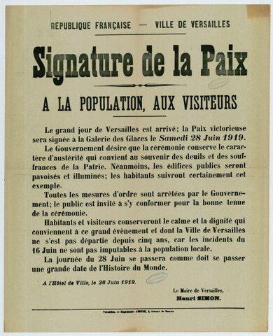 Traité de Paix