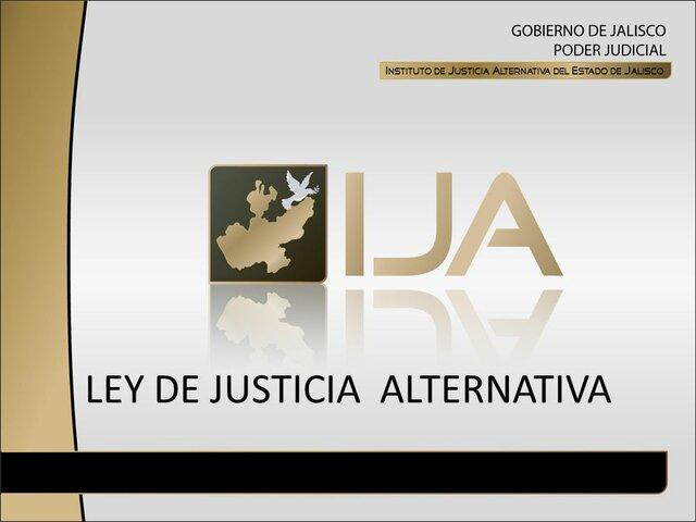 Ley de Justicia Alternativa