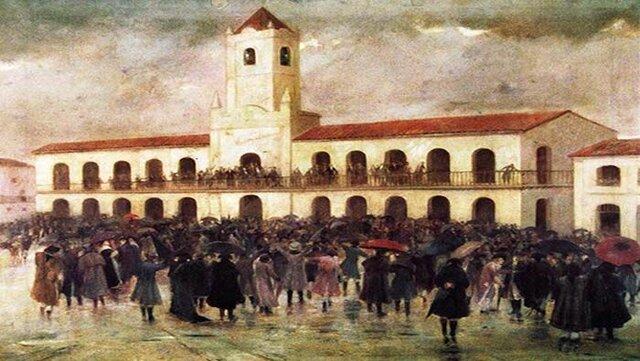 Revolución de Mayo. 1° Junta Gubernativa
