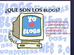 La historia del blogger