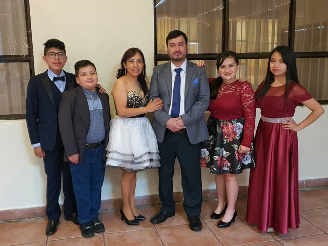 My family and i attended my cousin's wedding