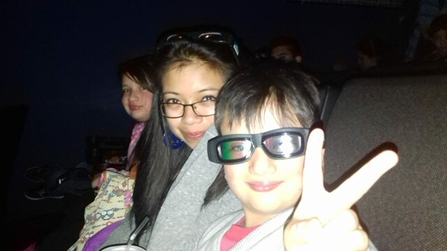 We went to the cinema to see Avengers: Age of Ultron