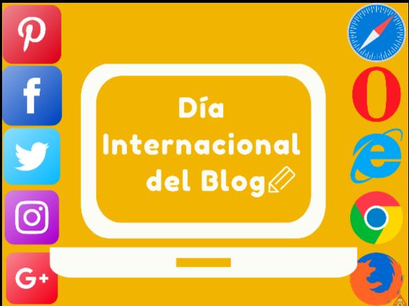 Dia internacional de Blog