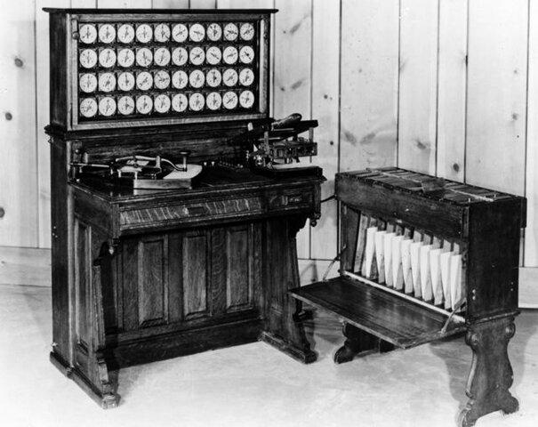 Maquinas para recuento de censo