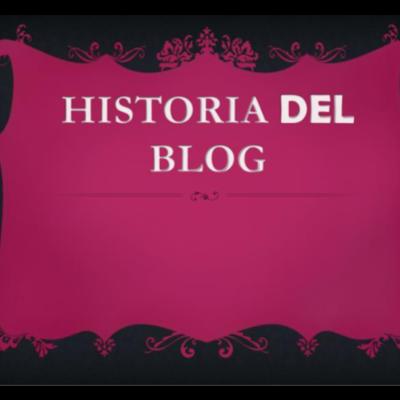 Historia de los Blog timeline