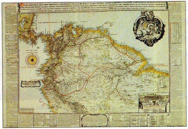 Se funda el Virreinato de Nueva Granada.